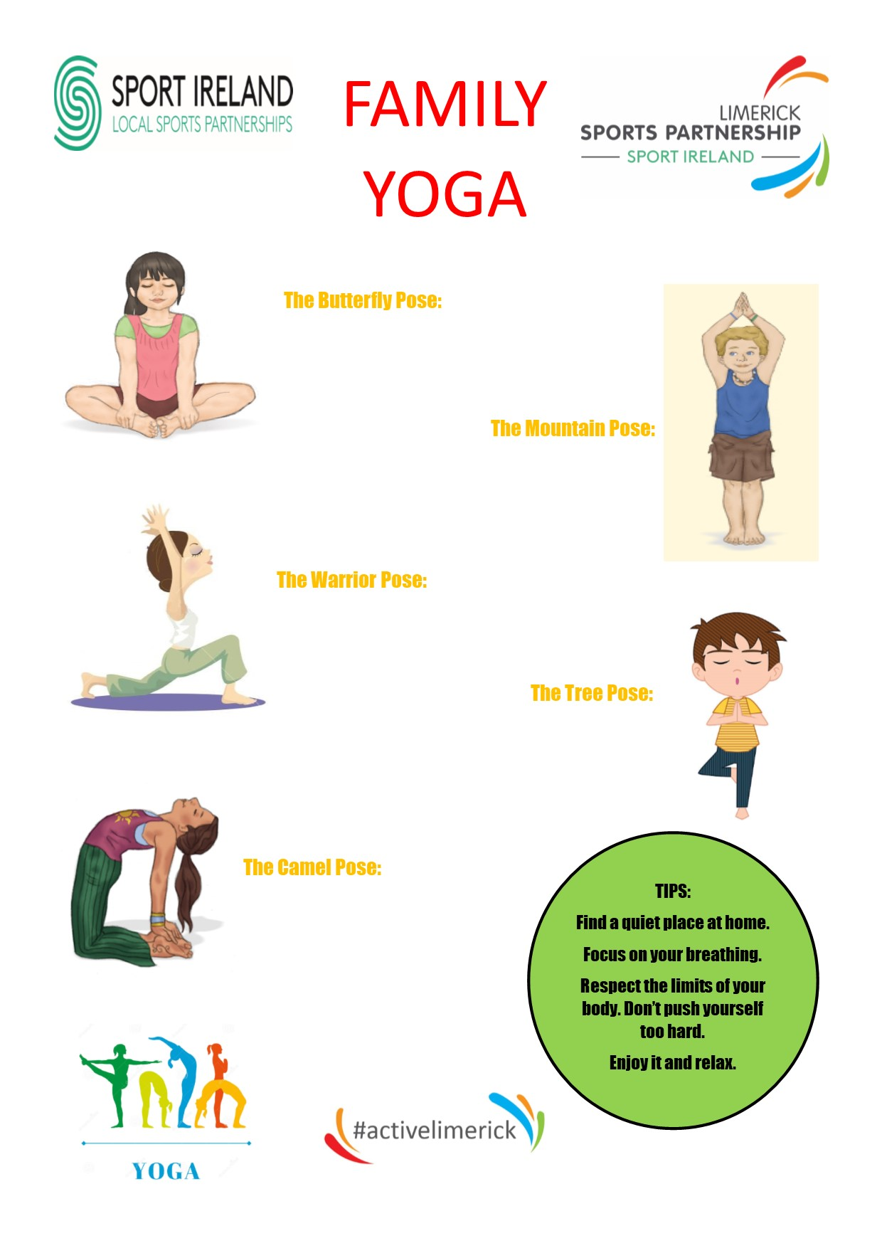 LSP Family Yoga Exercises