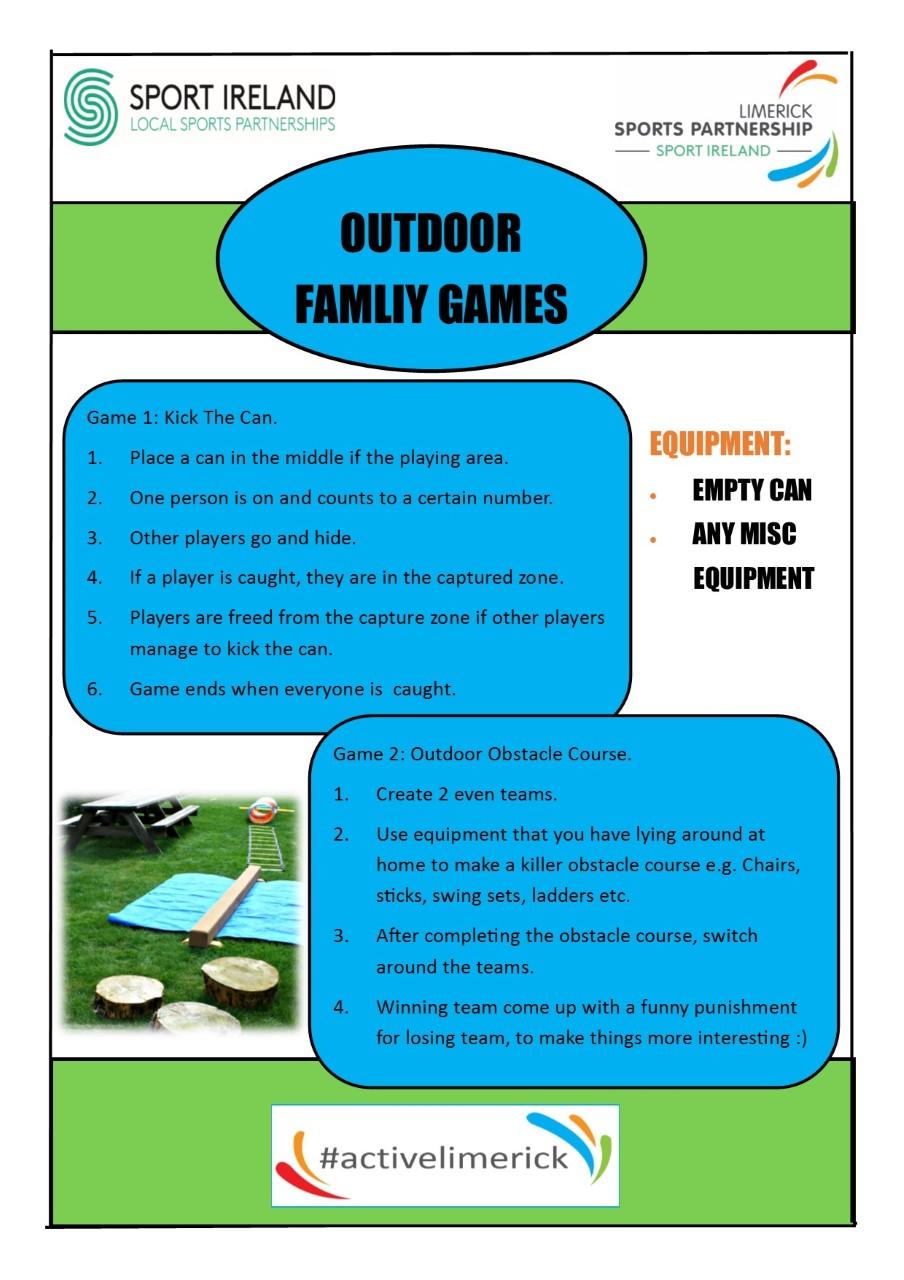 Outdoor Games - LSP