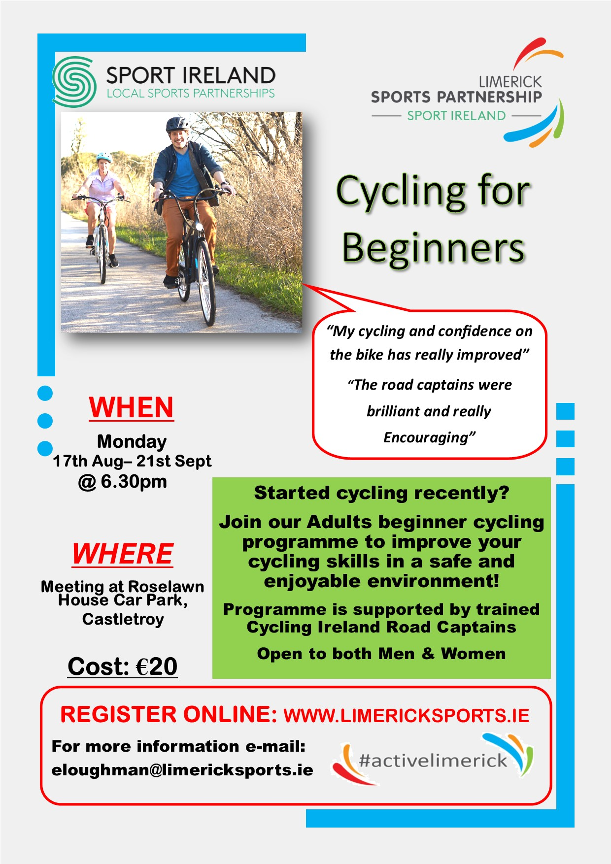 Cycling for Beginners