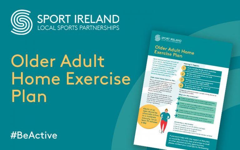 Social Assets Older Adults Home Exercise Plan