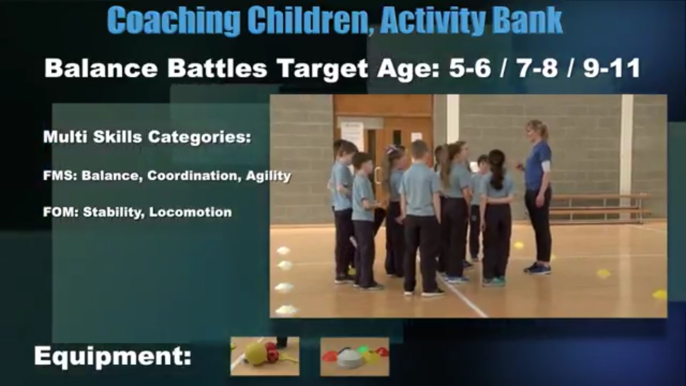 Balance Battles- Coaching Children 3