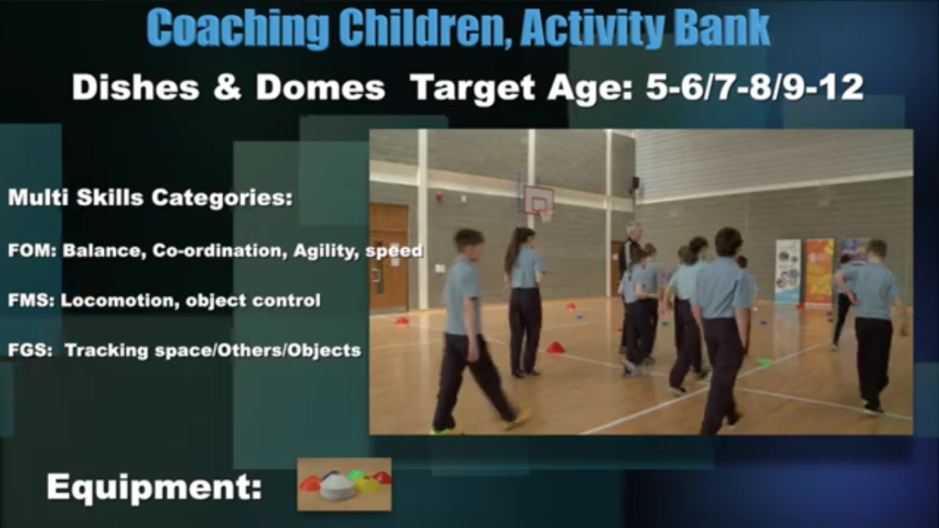 Dishes & Domes- Coaching Children 3