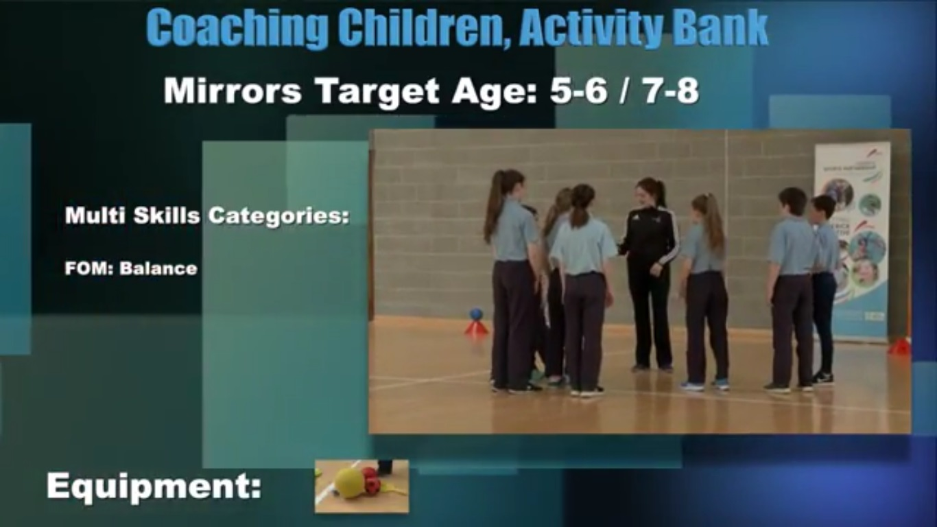 Mirrors- Coaching Children 3