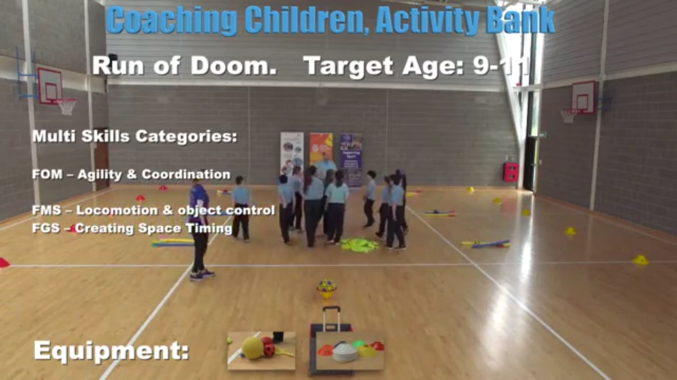 Run of Doom- Coaching Children 4