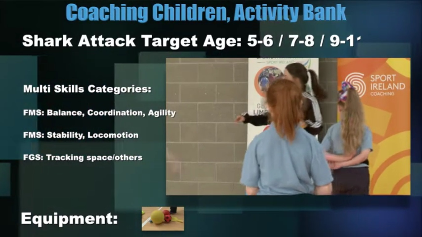 Shark Attack- Coaching Children 4