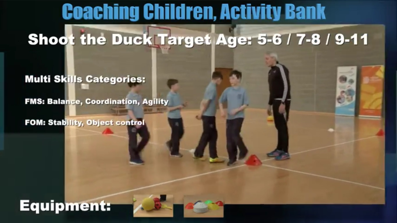 Shoot the Duck- Coaching Children 4