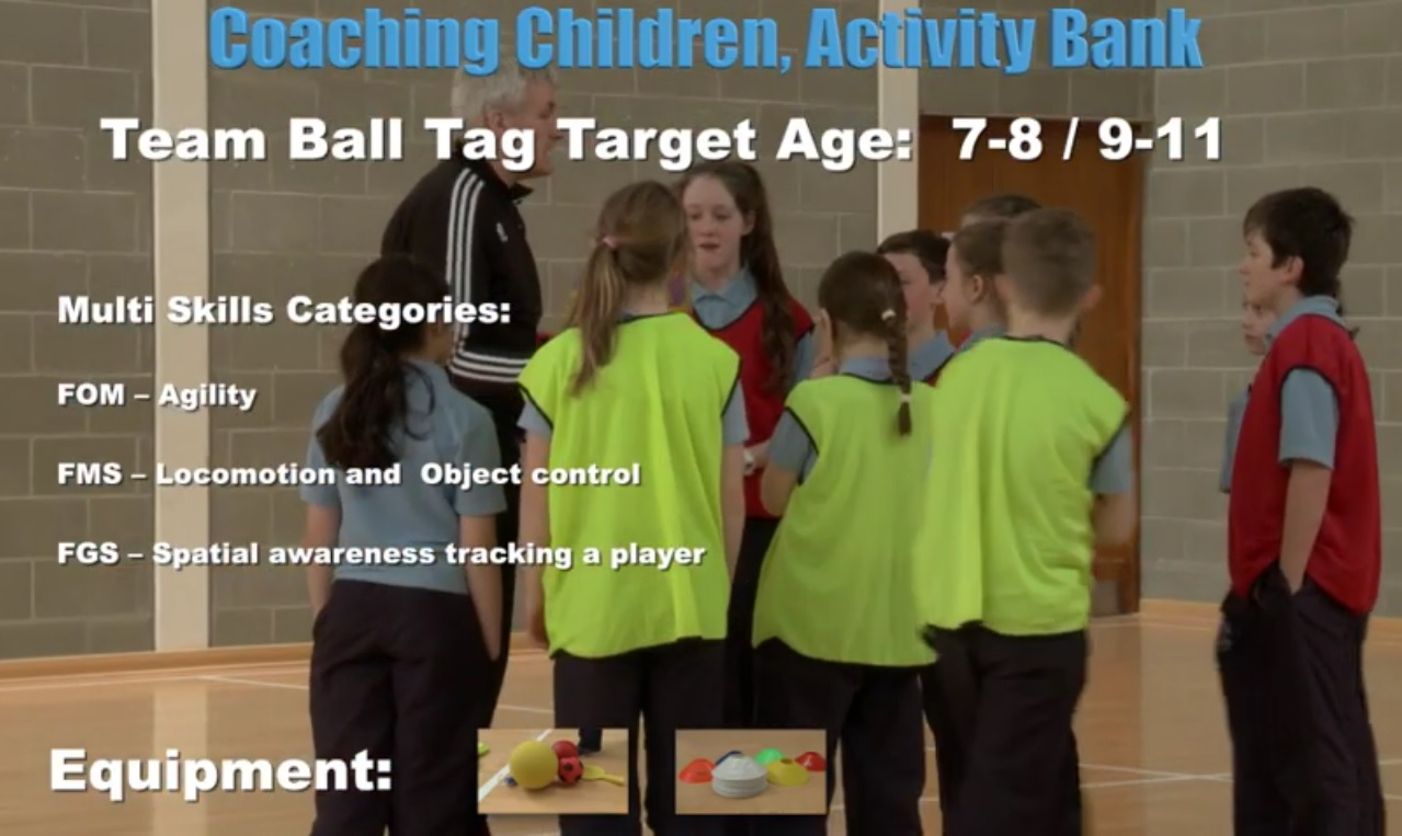 Team Ball- Coaching Children 4