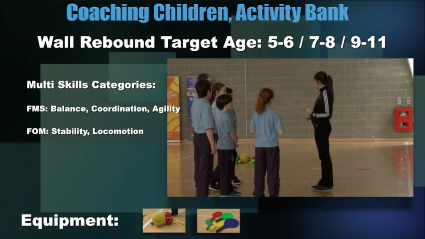 Wall Rebound- Coaching Children 4