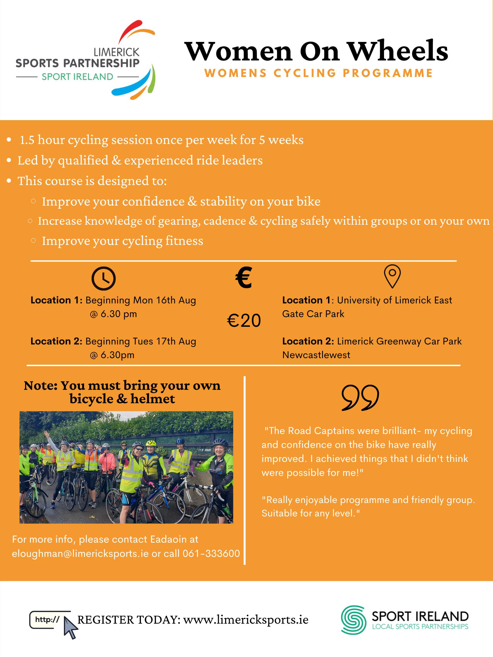 Women's Cycling Programme